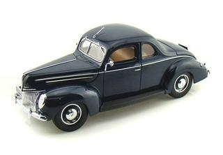 1/18 1939 Ford Coupe (Blue)