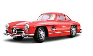1/24 1954 Mercedes-Benz 300 SL (Red) Metal Kitset