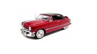 1/18 1950 Custom Deluxe Coupe (Red)