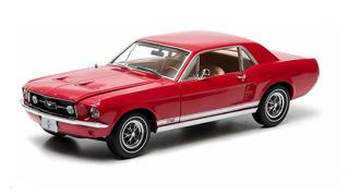 1/18 1967 Mustang GT Coupe (candy Apple Red)