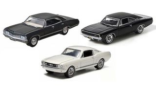 1/64 1960's Chev/Dodge/Ford Muscle Cars