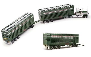 1/64 Buntine Roadways 3-Trailer Road Train