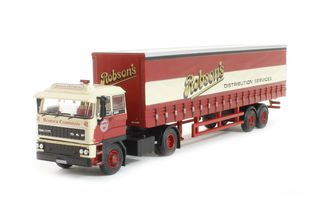 1/76 1984 DAF 2800 Curtainside