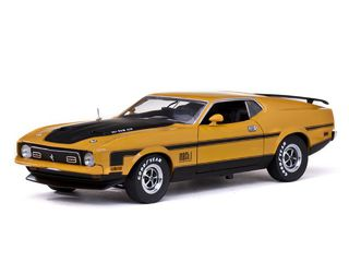 1/18 1971 Ford Mustang Mach 1 (Yellow Gold)