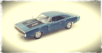 Diecast Classic 7 Muscle Cars