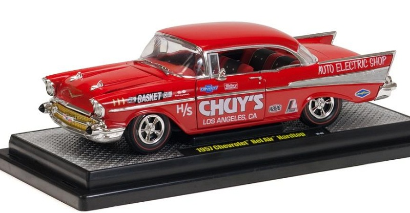 1/24 1957 Chev Bel Air Drag Car