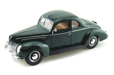 1/18 1939 Ford Coupe Hard Top (Green)