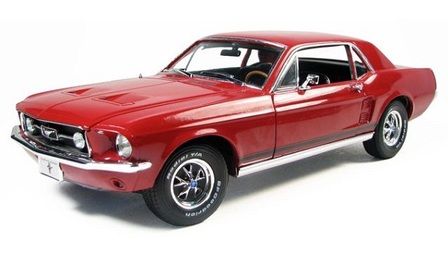 1/18 1967 Ford Mustang Coupe