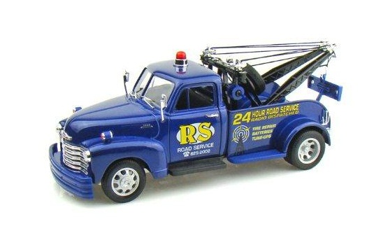 1/24 1953 Chev Tow Truck (Blue)