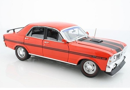 1/24 1971 Ford Falcon XY GTHO (Vermillion Fire)