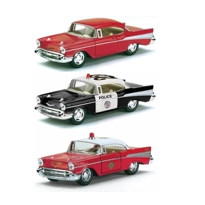 1/40 1957 Chev Bel Air Triple Pack