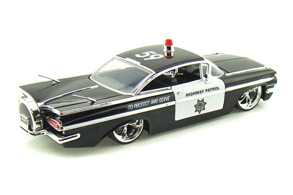 1/24 1959 Chev Custom Police Car