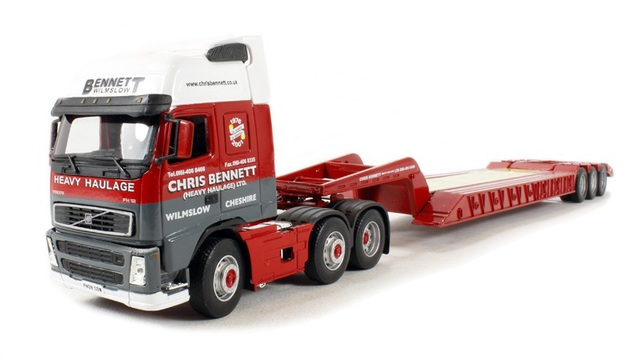 1/50 Volvo FH Low Loader