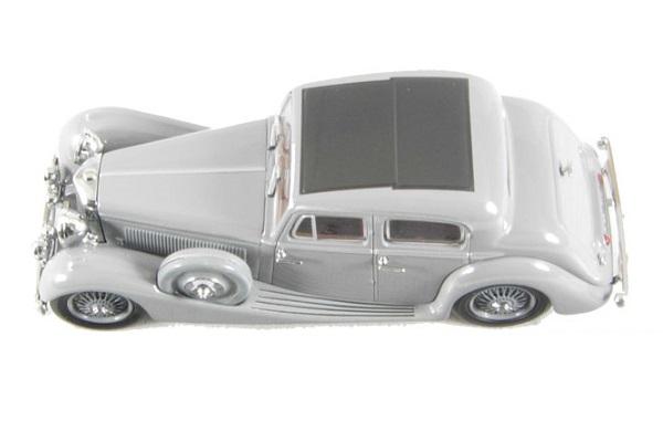 1/43 1930-1949 SS Jaguar 2.5 L Saloon Grey (OX-43JSS004) - High ...