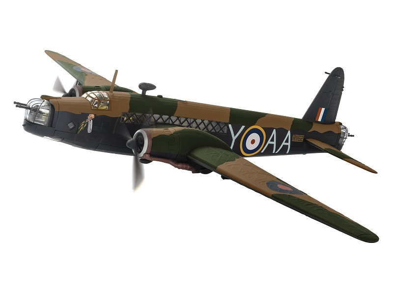 1/72 1941 Wellington Bomber RAF (NZ)