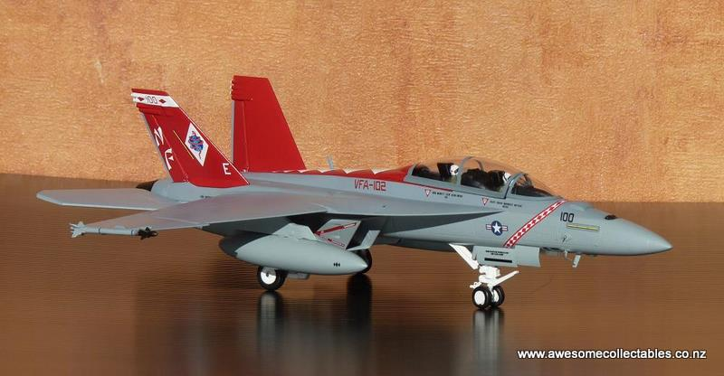 1/72 F/A-18F Super Hornet 'Diamondbacks'