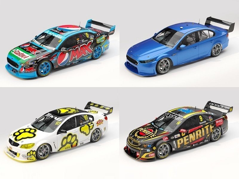 1/18 Diecast Model Supercars