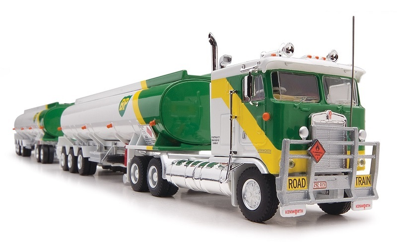 1/64 BP Tanker Triple Road Train
