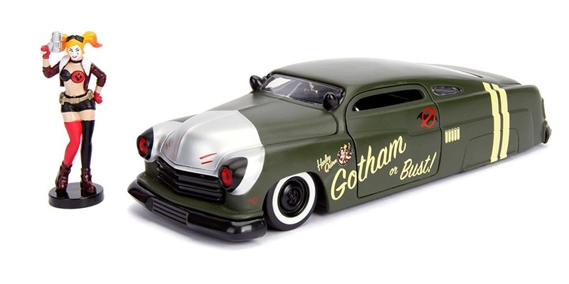 1/24 1951 Mercury Coupe & Harley Quinn
