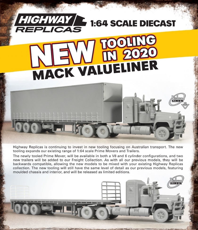 1/64 Highway Replicas Mack Valueliner
